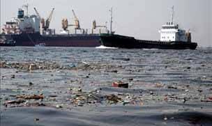 contaminación marina por barcos