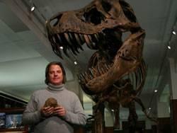 depredador x, reconstrucción museo
