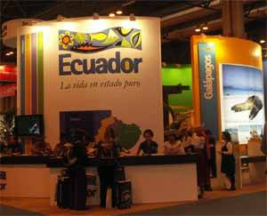 stand Ecuador en Fitur 2009