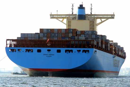 Emma Maersk, imagen grande