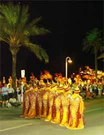 escuadra mora, fiestas de Peñíscola
