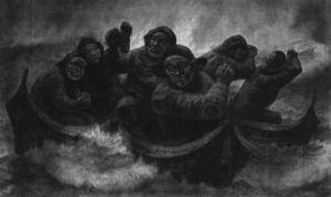 Kaare Espolin, pescadores noruegos