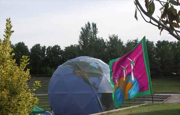 Estación clima, Greenpeace 25,  P.Tierno Galván Madrid