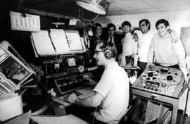 estudio radio caroline