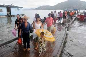 evacuados a causa del tifón Morakot