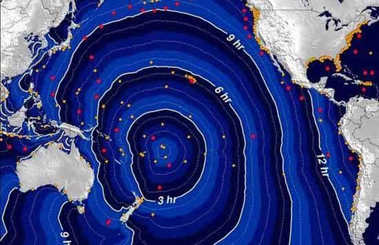 evolución tsunami samoa 2009