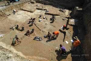 excavación El Camp dels Ninots - Caldes de Malavella (Girona)