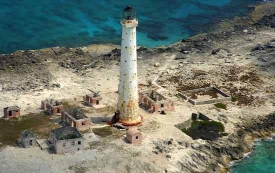 faro fantasma isla Great Isaac Cay, Bahamas