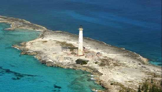 faro fantasma isla Great Isaac Cay, Bimini