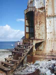 faro fantasma de Great Isaac Cay, Bimini