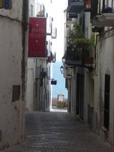 Peñíscola, Calle Juan José Fulladosa