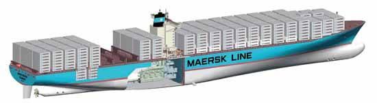 gráfico Emma Maersk