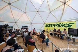 greenpeace 25 aniversario, rueda de prensa