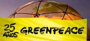 greenpeace, 25 aniversario
