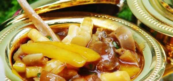 plato de Guo Lli Zhuang con pene oso marino