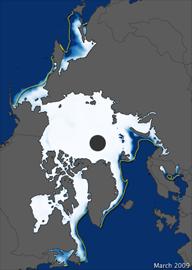 hielo ártico año 2009