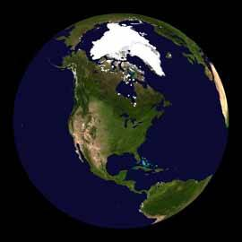 hielo ártico y Groenlandia