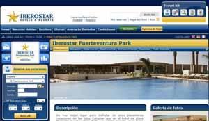 Iberostar, web