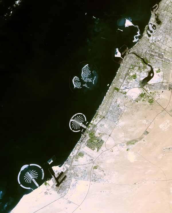 islas Dubai, Earth Observatory