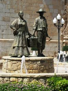 estatua de labradores, Benicarló