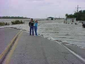 Louisiana, subida nivel del mar