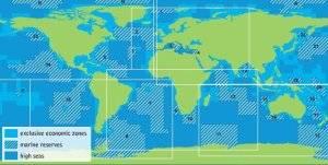 Mapa Greenpeace reservas marinas