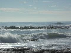 Mar salada en Benicarló