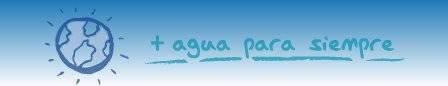 Slogan de Acuamed + agua para siempre