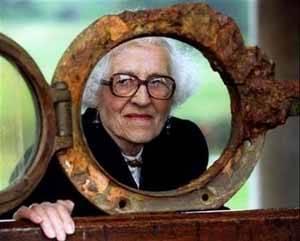 Millvina Dean, última superviviente del Titanic