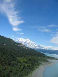 monte St. Elias, Icy Bay en Alaska