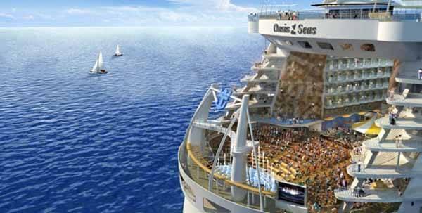 Oasis of the seas, auditorio en la popa