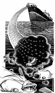 océano envenenado