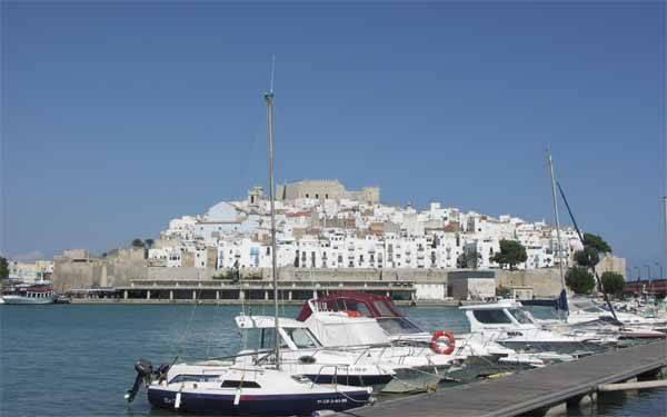 Peñiscola desde el puerto
