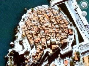 fotos Peñíscola por sátelite con Google Earth