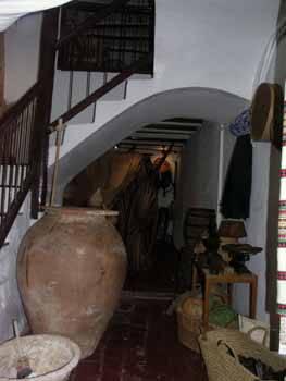 Peñíscola, museo casa tradicional, cuadra