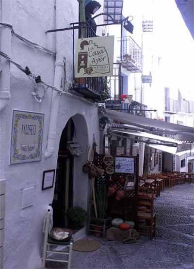 Peñíscola, museo casa tradicional, entrada