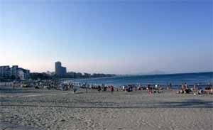 Peñíscola, playa norte, julio 2009