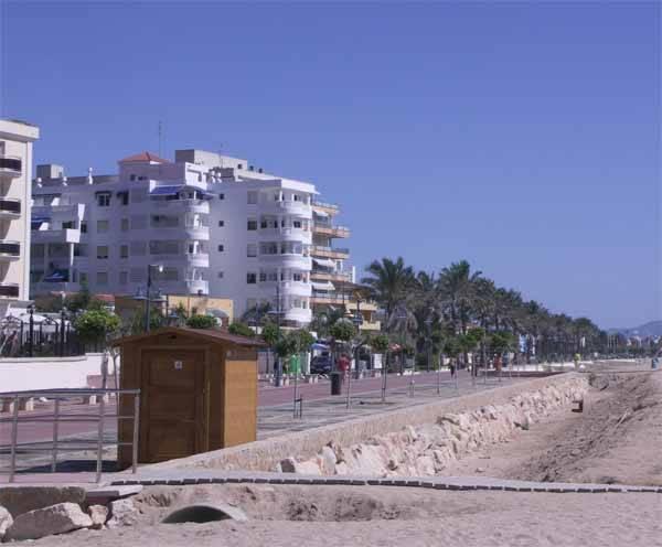 Peñíscola, regeneración playa norte