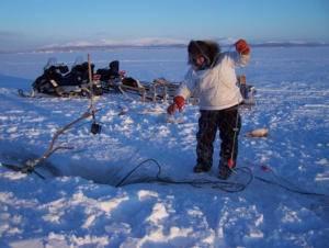 pesca tradicional en el ártico