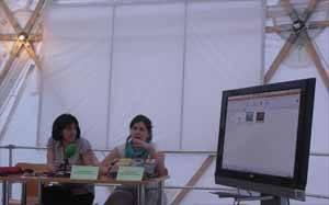 Pilar Marcos y Cecilia Ojeda,  Greenpeace España océanos