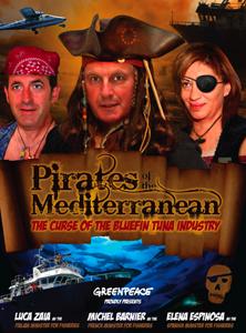 Ministros piratas en el Mediterraneo