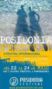 Posidonia Festival 2009 cartel