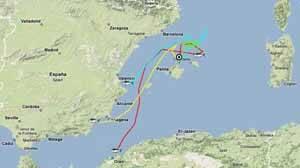 recorridos del atún rojo del Mediterráneo