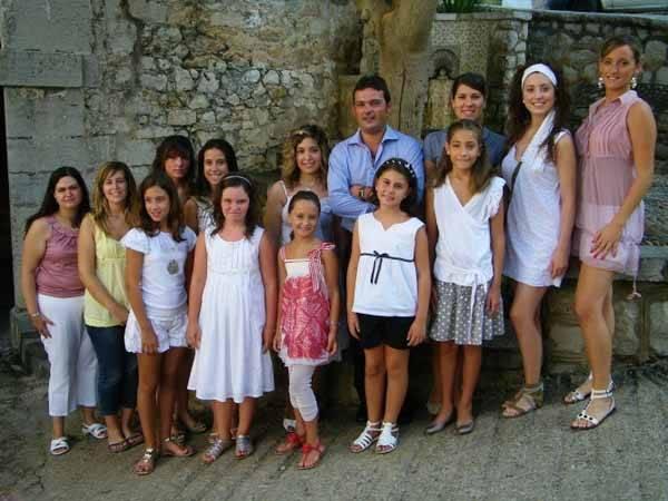 Reina y damas Fiestas peñíscola 2009