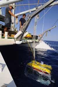 rov (robot submarino) de Oceana en Canarias