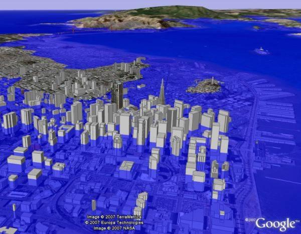 Efectos del aumento del nivel del mar en San Francisco