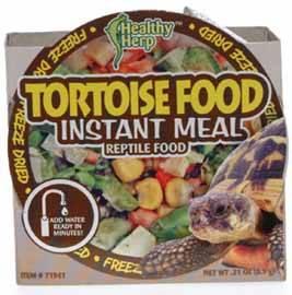 comida de tortuga instantánea