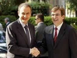 José Luís Rodriguez Zapatero y Francesc Antich en Palma de Mallorca