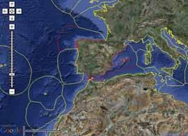 Zona de exclusión económica de España