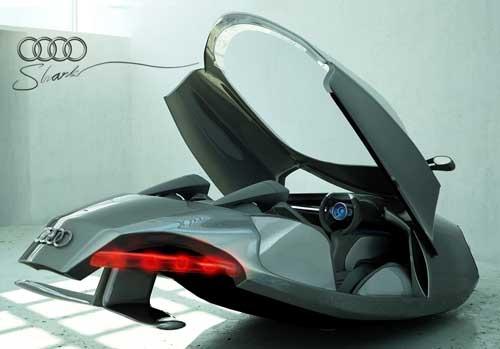 coche futurista volador Audi Shark Concept